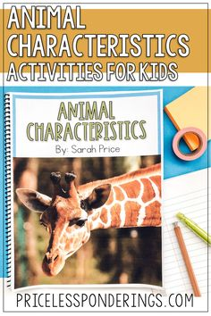 Help your elementary students explore, learn, and write about needs of an animal and animal characteristics. Check out these engaging low-prep activities and worksheets, great for a third grade science class. Science Resources, Science Activities, Activities For Kids, Fourth Grade Science, Elementary Science, Interactive Notebooks, Animals For Kids, Lesson Plans, Worksheets
