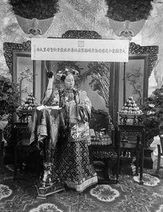 The Empress Dowager Cixi