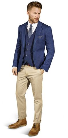 Harrison Herringbone Jacket
