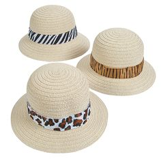 Lions and tigers . but probably no bears! Pass out these Adult Pith Helmets with Animal Print Band to all your friends at a safari-themed party and pretend . Adult Safari Party, Safari Theme Birthday, Jungle Theme Parties, Jungle Party, Africa Theme Party, 2nd Birthday, Jungle Jam, Lion Party, Thomas Birthday