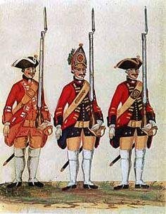 Infantry Regiment von Hardenberg (1750s), Hannover.