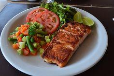 Food, Fish, Salmon, Potatos, Power