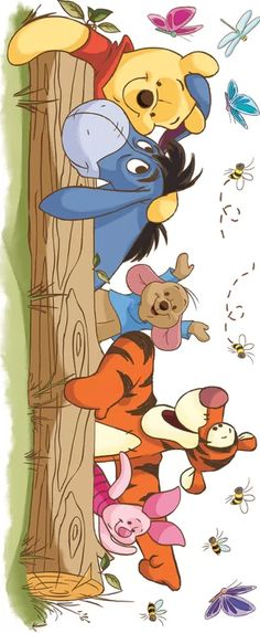 Eeyore Pictures, Winnie The Pooh Pictures, Cute Winnie The Pooh, Winnie The Pooh Birthday, Winnie The Pooh Quotes, Winnie The Pooh Friends, Disney Character Drawings, Disney Drawings, Cute Drawings