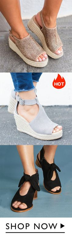 best 200 espadrille wedges ideas - in 2019 Cute Shoes, Me Too Shoes, Espadrilles, Mode Outfits, Summer Shoes, Comfortable Shoes, Wedge Shoes, What To Wear, Fashion Shoes
