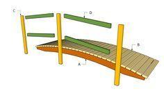 Marvelous How To Make A Garden Bridge Garden Bridge Plans Free Free Garden Plans How  To Build Garden