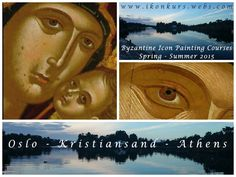 Icon painting courses in Oslo & Kristiansand in Norway and in Athens, Greece, spring / summer 201. More info: www.ikonkurs.webs.com Kristiansand, Painting Courses, Byzantine Icons, Athens Greece, Spring Summer 2015, Oslo, Norway, Art, Art Background