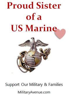 105 Best Marine Sister Images Frases Us Marine Corps God Loves Me