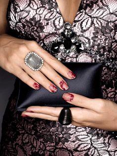 Spring Nail Trends - DIY Nail Ideas - lace nails