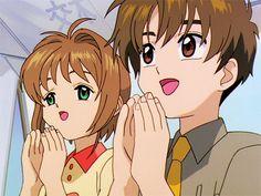 gif cardcaptor sakura Sakura Kinomoto Syaoran Li man these two are hilarious