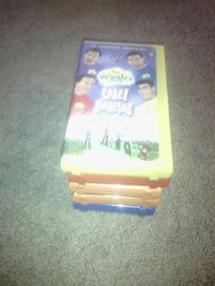 Wiggles Lot Of VHS Movies