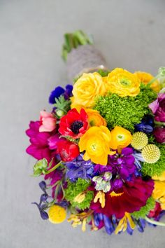 Brilliantly bright bouquet