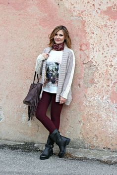 Buttercream casual outfit – Look casual color crema (Fashion Blogger OOTD)