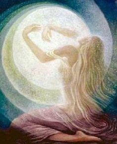 Quintal de Bruxa - Terapias Naturais: O Resgate do Feminino com as Terapias Naturais - Meditação com a Pedra da Lua