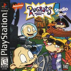 Rugrats The Studio Tour for the original Sony Playstation Now on sale with a no questions asked return policy. V Games, Video Games, Board Games, Double Game, Rugrats All Grown Up, Giant Bomb, Nintendo, Video Game Collection, Playstation Games