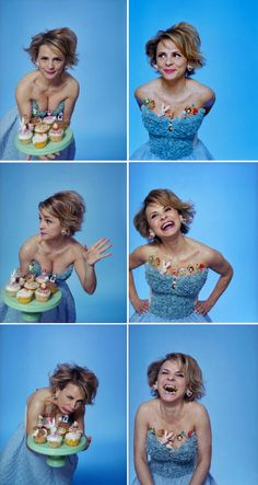 Amy Sedaris. New Yorker. LOVE HER. Oprah- you want to revive your channel? Give her a crafts show! And free reign!