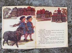 "Jan Grabowski – ""Czarna owieczka"" (1982)- il. Maria Orłowska – Gabryś Thing 1, Children's Books, Illustrators, Mario, Polish, Movie Posters, Movies, Children Books, Vitreous Enamel"