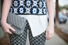 mixed prints with Old Navy on TheStyleScribe.com today // #oldnavystyle