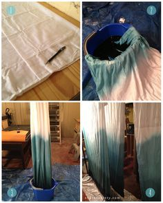 DIY: Ombre Curtains