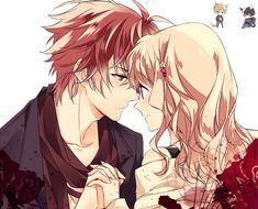 Original Picture:www.zerochan.net/1684471 Mangaka:Icylove Please enjoy the render of Ayato x Yui!