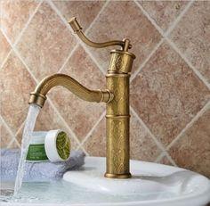 Wasserhahn für Badezimmer oder Küche im antiken von LecosseDesign, €89.90
