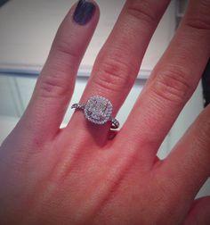 Tiffany's Engagement Ring. DREAM RING.