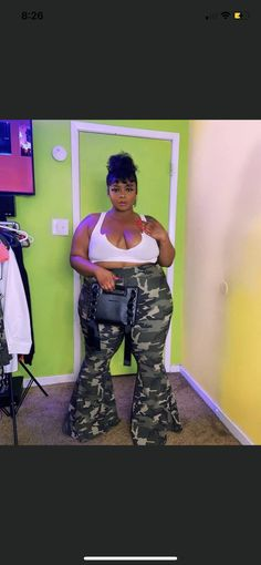Thick Girls Outfits, Curvy Girl Outfits, Sexy Outfits, Plus Size Outfits, Urban Outfits, Thick Girl Fashion, Black Women Fashion, Curvy Fashion, Look Plus Size