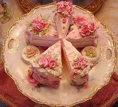 Shabby Cake Slice's :)