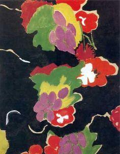 Sonia Delaunay - Fleurs, motif textile