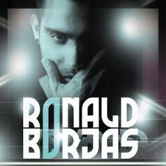 diseño de caratula del disco del cantante ronald borjas