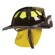 """Bullard-UST Series Traditional Helmet With 5"""" Brass Eagle. Firefighter gifts come in all sizes....."""