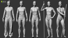 http://www.zbrushcentral.com/showthread.php?173890-Reference-Character-Models/page8