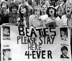 The Beatles #Fans #1964 yep saw them on Ed Sullivan ,by the next weeks show I was hooked 4 ever>>>>>>,