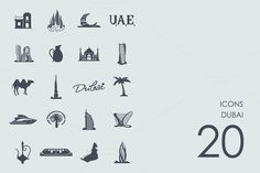 Dubai icons @creativework247