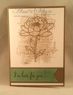 Lavender Thoughts | Annette Sullivan | Stampin' Up! You've Got This Mint Taupe