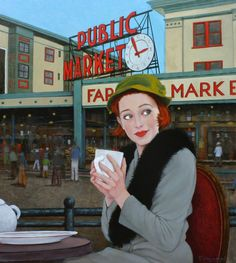 Coffee Talk  -  Fred Calleri