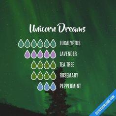 Unicorn Dreams - Essential Oil Diffuser Blend by lenora