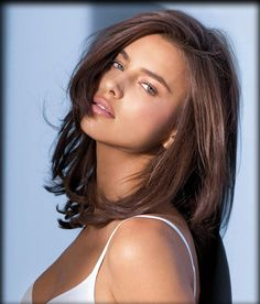 Medium Hair Cuts For Women brunette | Women and Men Hairstyles: Irina Shayk Hairstyles