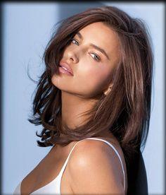 Medium Hair Cuts For Women brunette | Women and Men Hairstyles: Irina Shayk Hairstyles
