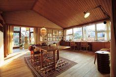 ゲントフテにあるボーエ・モーエンセンの自邸。自身がデザインした家具は全て自邸で試した後、製品化した