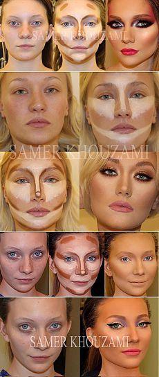καλλιτέχνης μακιγιάζ (17 φωτογραφίες)
