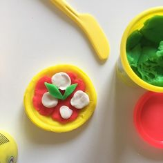 Stamattina pizza #playdoh #pizza #plastilina #toys #giocando