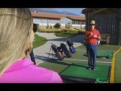Initiation au golf pendant le Charity Golf Challenge 2016