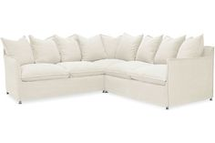 Lee Industries US102-Series Agave Outdoor Slipcovered Sectional Series