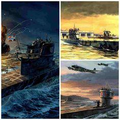 Las 5 Bases U-Boat alemanas en Francia