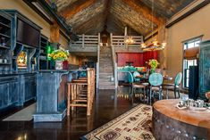 barn with living quarters- I adore everything about this!
