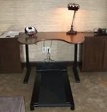 Custom Brighton Walnut Adjustable Height Desk with Tread Workout At Work, Adjustable Height Desk, Office Desk, Corner Desk, Brighton, Couple, Models, Furniture, Home Decor