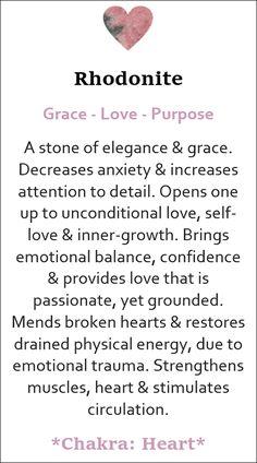Best Healing Crystals, Crystal Healing Stones, Chakra Crystals, Stones And Crystals, Crystal Guide, Crystal Magic, Rhodonite Meaning, Smudging Prayer, Peridots