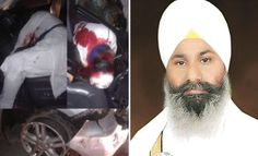 ‪#‎Sikhpreacher‬ ‪#‎RanjitSinghDhadrianwale‬, 36, who was attacked near ‪#‎Ludhiana‬ on Tuesday