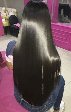 How to Get Perfectly Soft Hair : Touch-Me Hair-The Easy Way!, HAİR STYLE, We similarly know the importance of a perfect technique to construct the greatness of any bit of the body. in the event that you Corley need to get th. Soft Hair, Silky Hair, Dark Hair, Beautiful Long Hair, Gorgeous Hair, Coiffure Hair, Long Black Hair, Hair Laid, Super Long Hair
