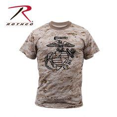 Rothco Desert Digital Camo Big EGA | Marine Corps Direct | Quality USMC gear and clothes | marinecorpsdirect.org | USA